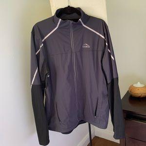LL Bean Men's Large Running Jacket